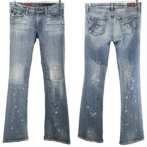AG Adriano Goldschmied ANGEL Distressed Patch Jean